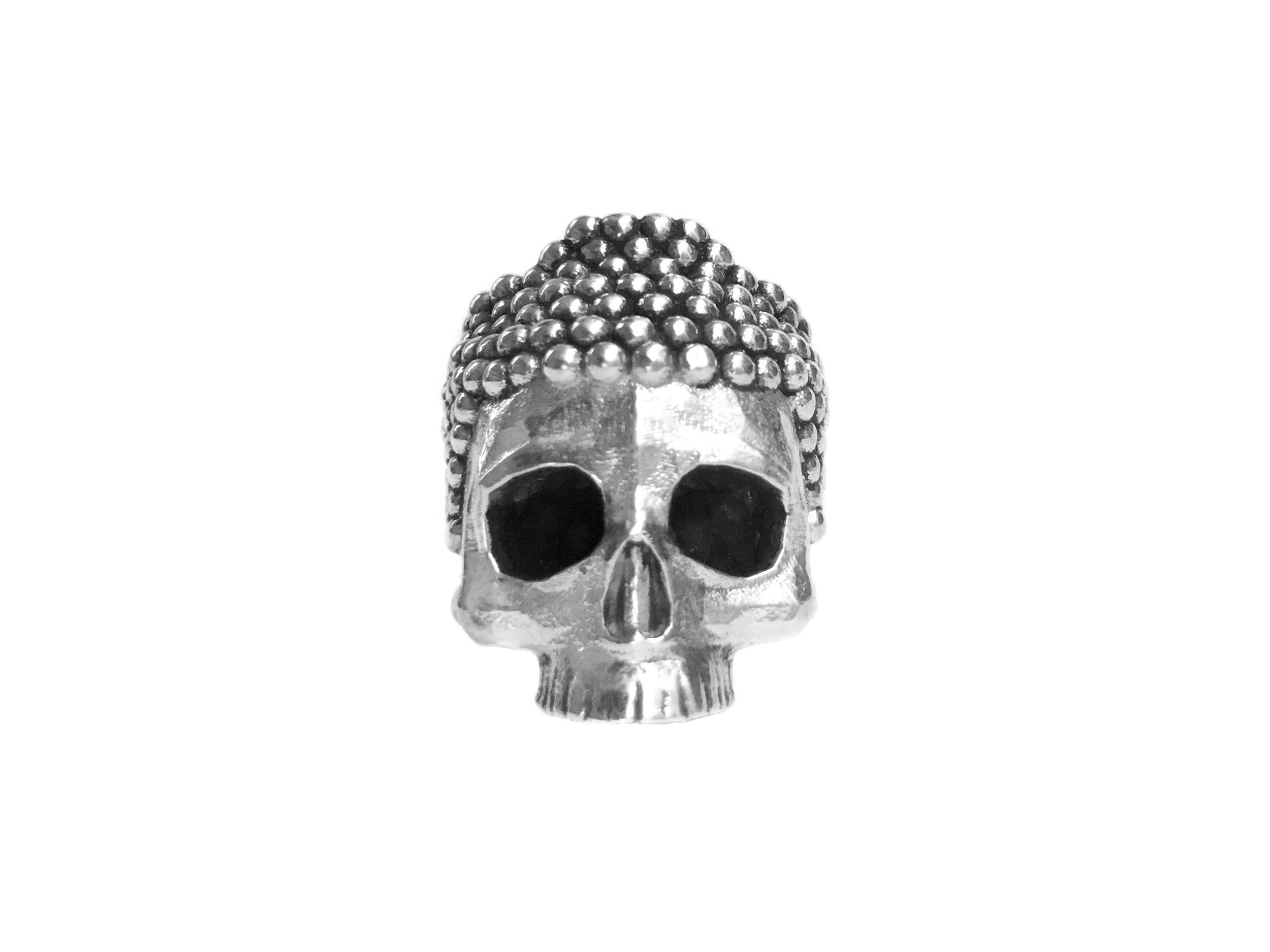 Buddha Skull Ring - A new design that's dying to be on your finger.
