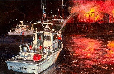 Image courtesy of the U.S. Coast Guard Art Collection, Washington, D.C.
