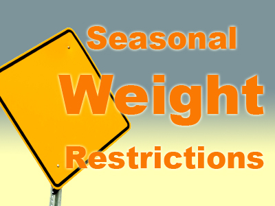 Click here for leelanau county road commission seasonal weight restrictions.