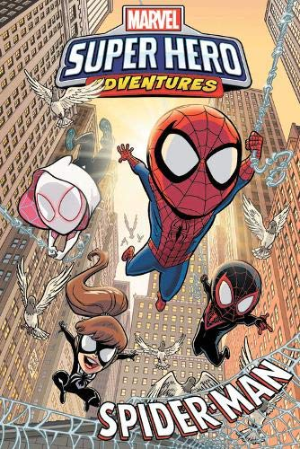 Marvel Super Hero Adventures: Spider-ManPaperback – June 4, 2019 - Collecting: MARVEL SUPER HERO ADVENTURES: SPIDER-MAN - ACROSS THE SPIDER-VERSE, WEB OF INTRIGUE, SPIDER-SENSE OF ADVENTURE and WEB DESIGNERS.