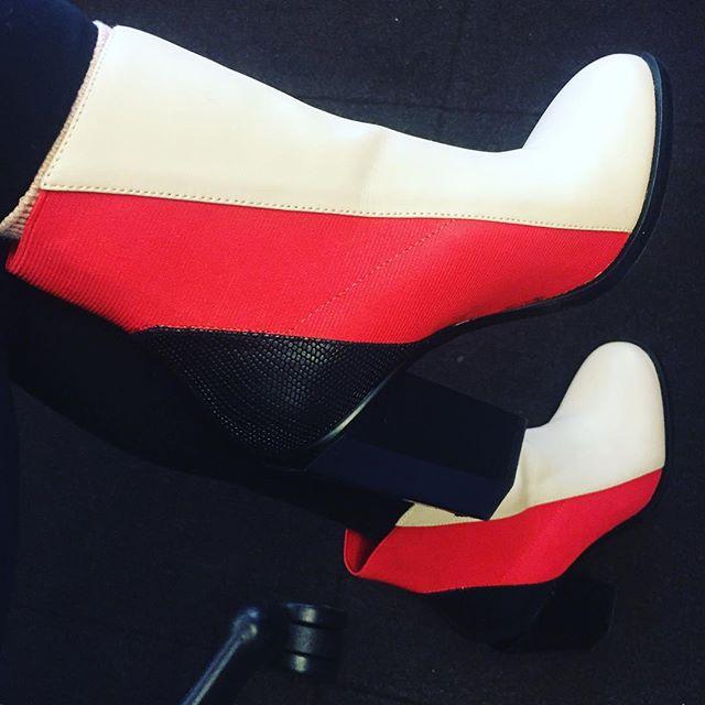 Today's moon boots @unitednude.  #mod #unitednude #shoes #moonboots