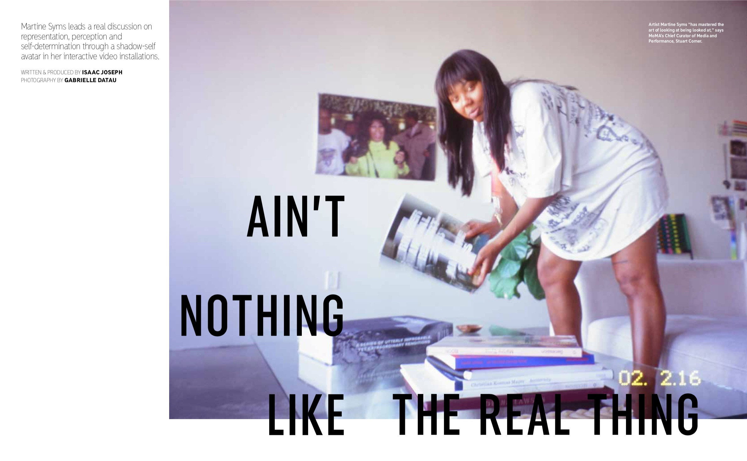 ARTICLE: Martine Syms LALA Summer 2019 -