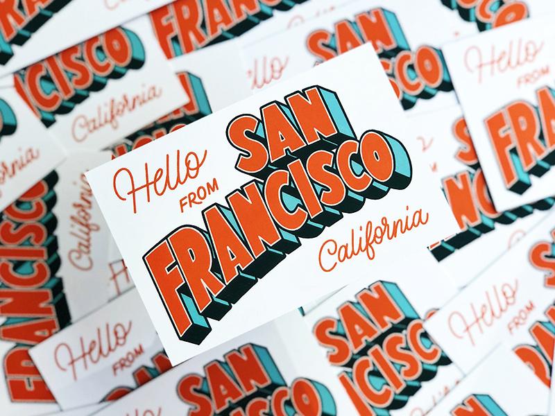 San Francisco Postcard - Jenna Carando