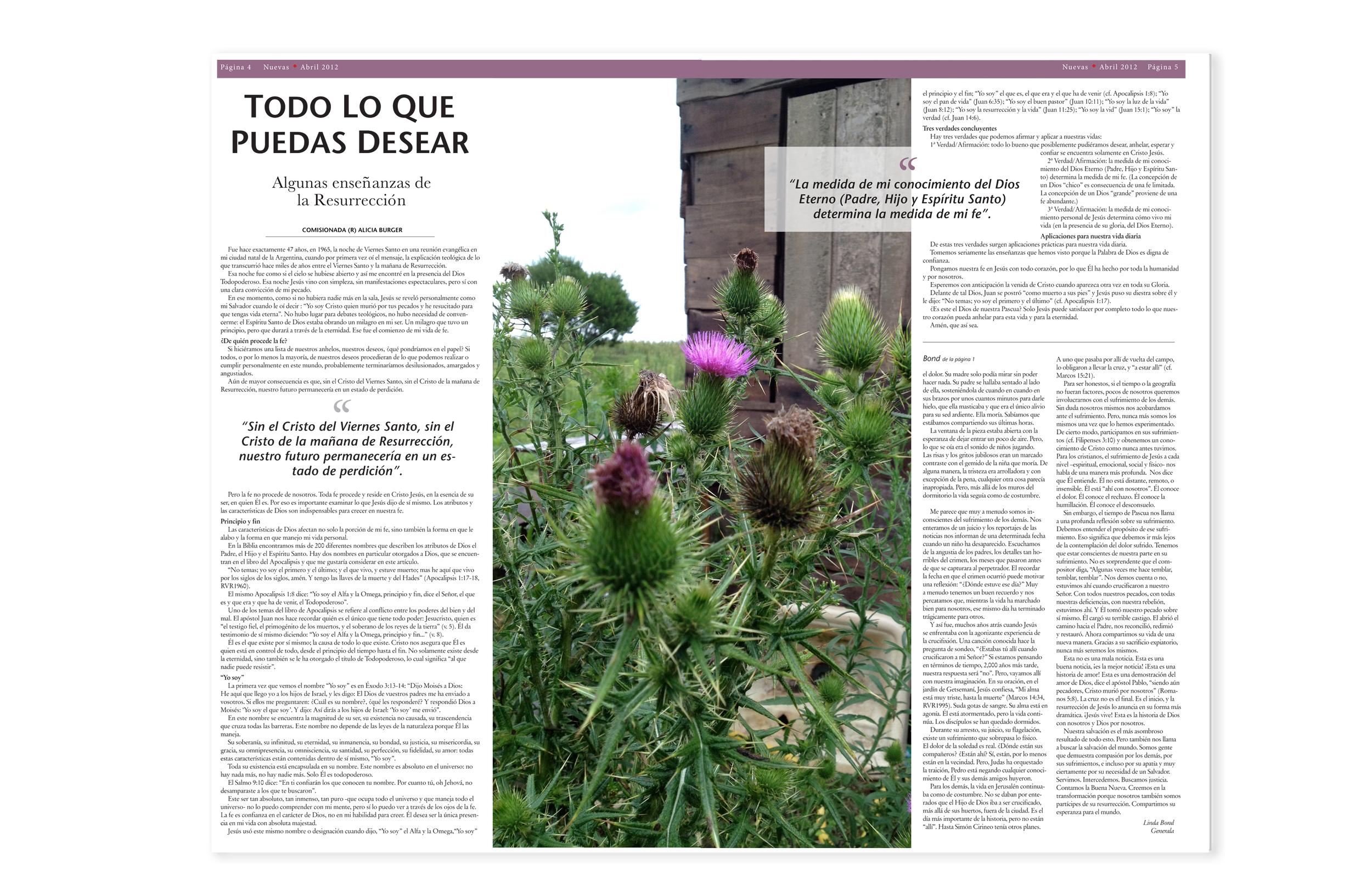 Nuevas_Layout Design and Photo Cedit