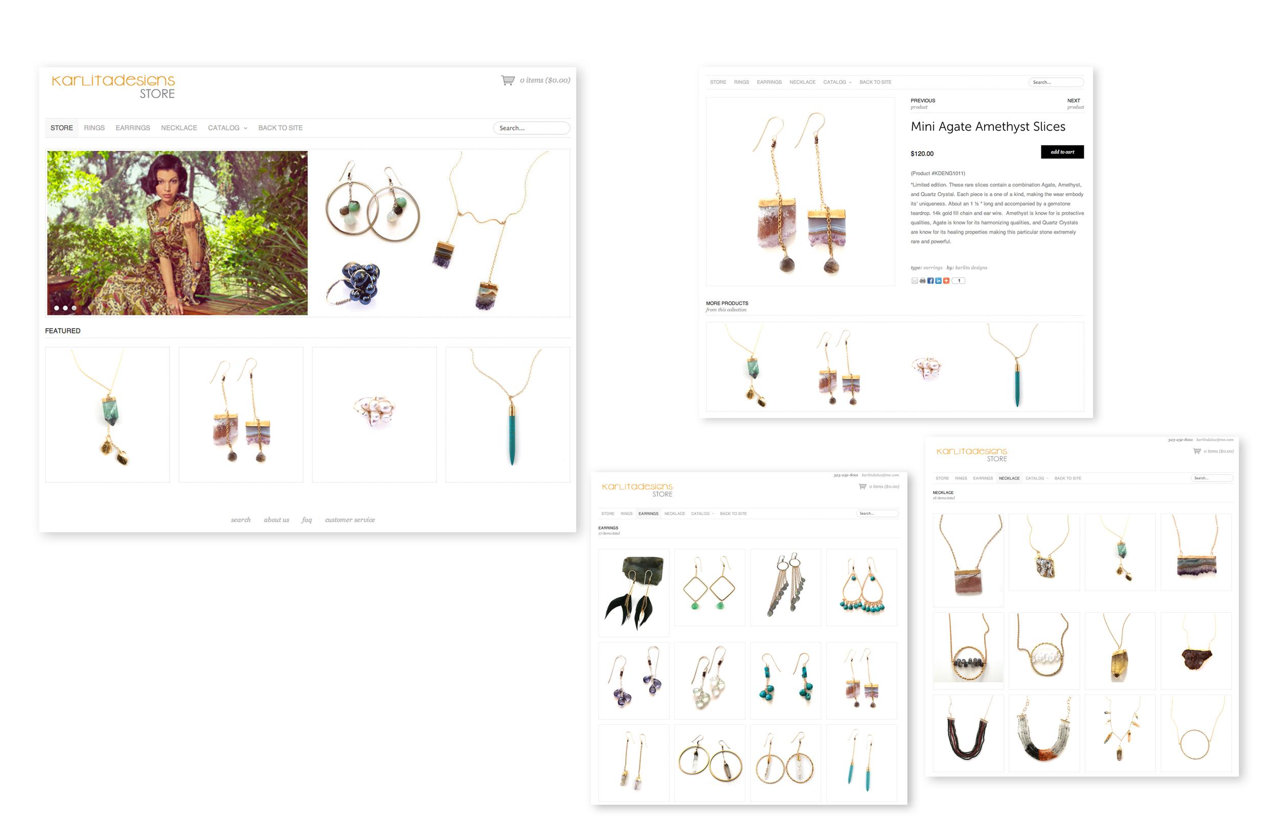 Karlita Designs_ Online store programing
