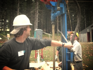 Josh Kurtz attended a seminar at Equip International in North Carolina learning practical skills in well-digging.