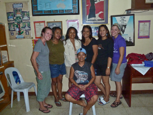 The women at the Buklod Foundation in the Philippines are working hard to educate and empower women victimized by the sex tourism industry.