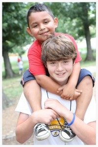 Youth participants are encouraged to get out of their comfort zone and connect relationally to those they are serving. Once they do this, they often realize how easy it can be to love another.