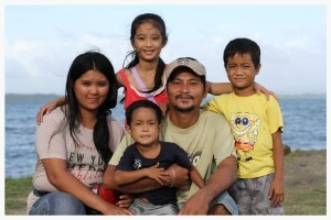This family has been supported by GOD Int'l for the past several years. We assist them with housing needs and school fees for their daughter. Typhoon Haiyan left severe damage to their home and they are presently in need of food and water.