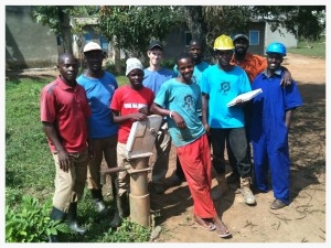 This team has been empowered to assess problems and troubleshoot solutions to ill-performing wells. They have been able to repair 8 wells in Central Uganda, re-establishing a water source for over 3,000 people.