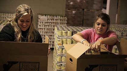 Our teams have distributed, literally, tons of food to the needy residing in the Appalachian Mountains over the years.