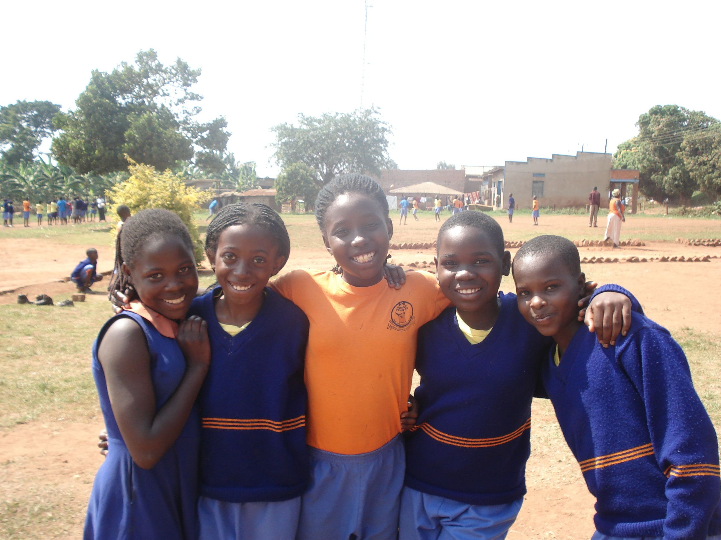 With quality education, these young ladies can begin to transform their community.
