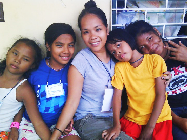 Rina's connection with children has always been noticeable. She has been such a help to our organization over the years in helping us facilitate events for children, as well as serving as a translator.