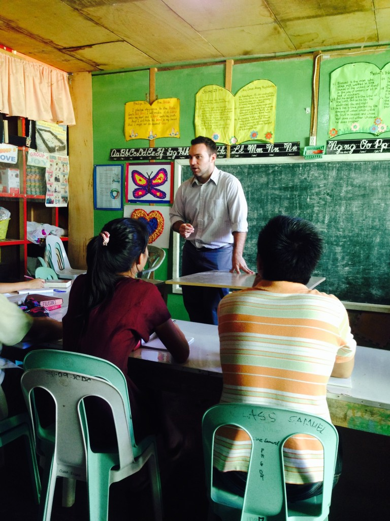 Craig Duffy, a student Bible instructor, teaches theology at a Bible school in Mindanao, the southern-most region of the Philippines. By volunteering at three different schools during his time abroad, he developed his capacity as a Bible educator and gained experience teaching in a cross-cultural setting. Craig is passionate about helping students develop a healthy theology about God, and how that should be applied to how they live.