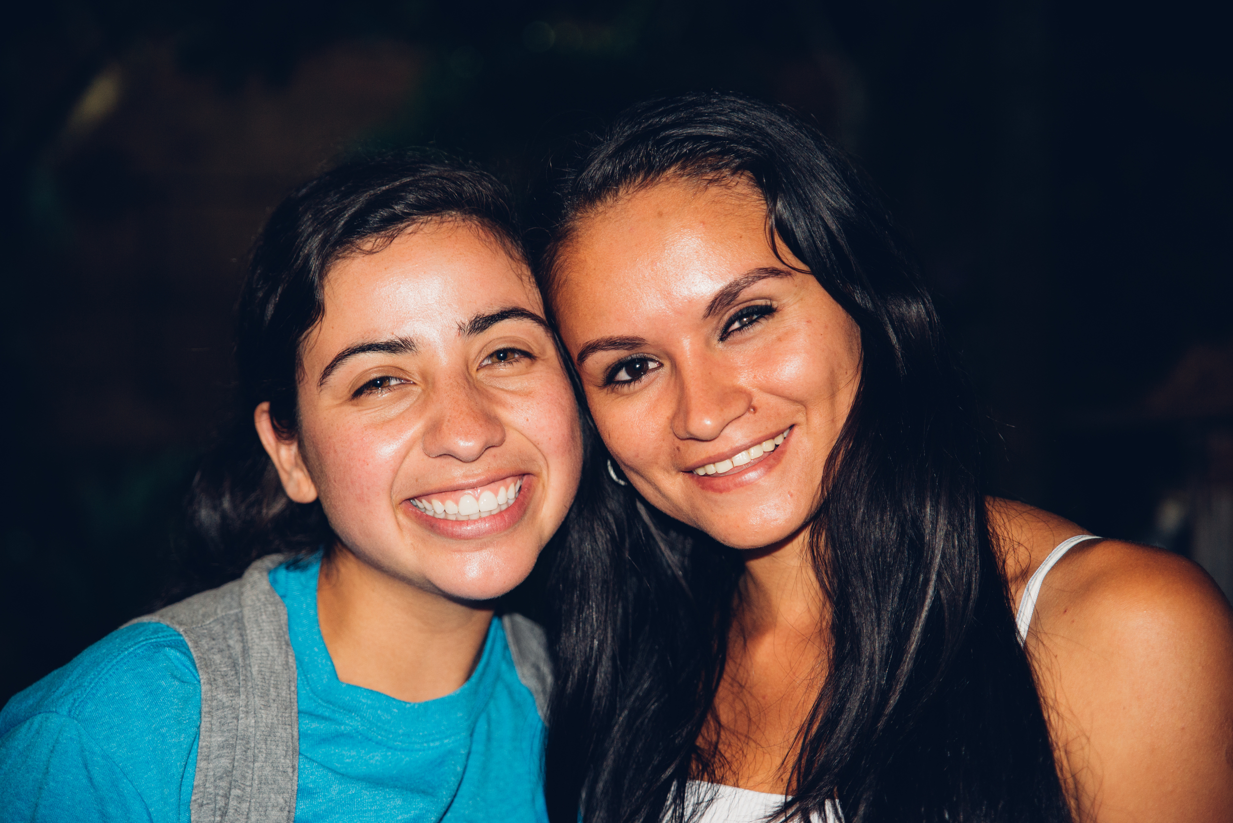 Lavinia Fernandez with Lorena.