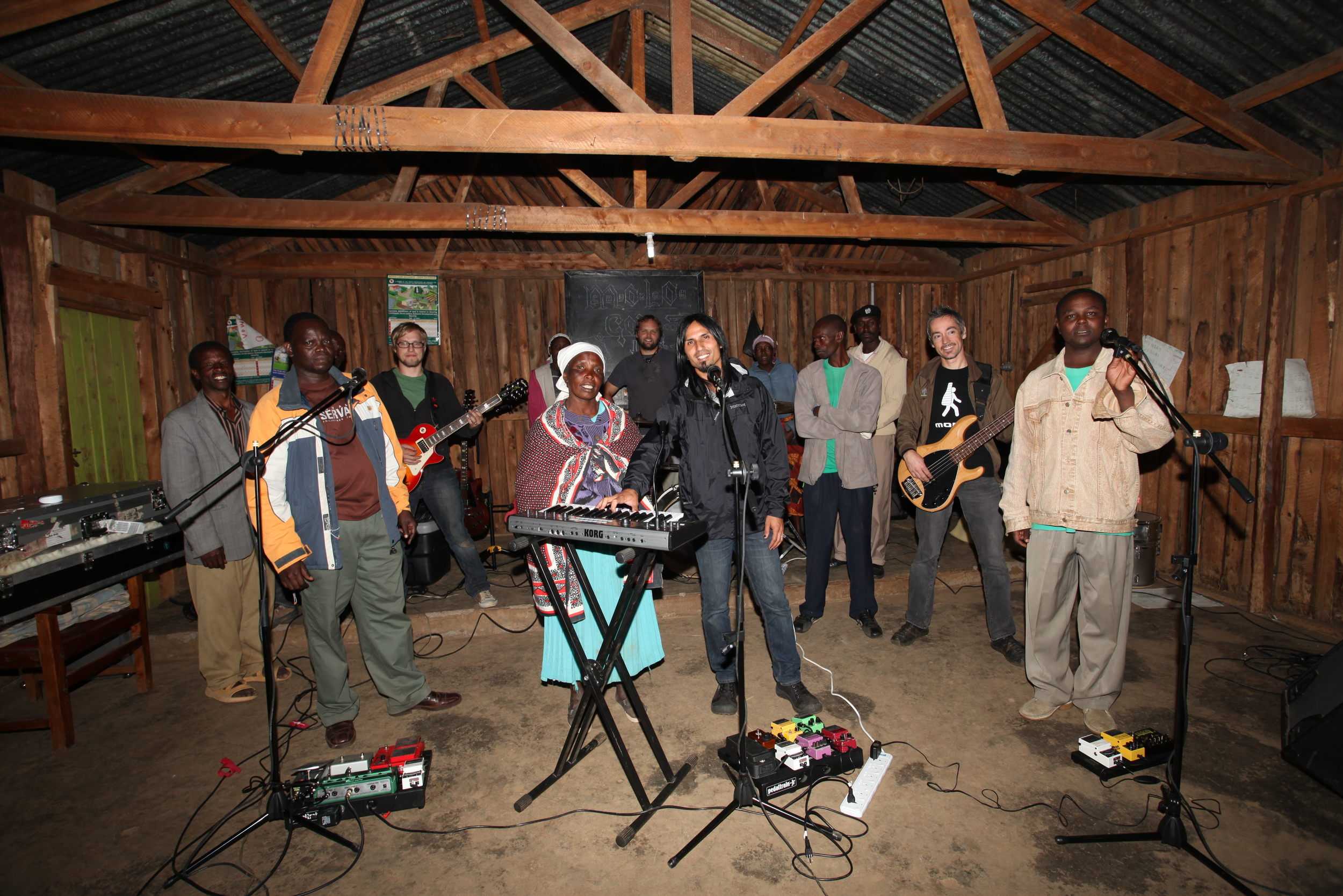 In 2011, this group of Kenyans and Americans put on a concert for the residents of an internally displaced persons (IDP) camp in Molo, Kenya. The residents, victims of post-election violence over 3 years prior, were still suffering its effects. In a small church building with just a gas-powered generator, the music gave way to a very emotional and powerful evening for everyone gathered.