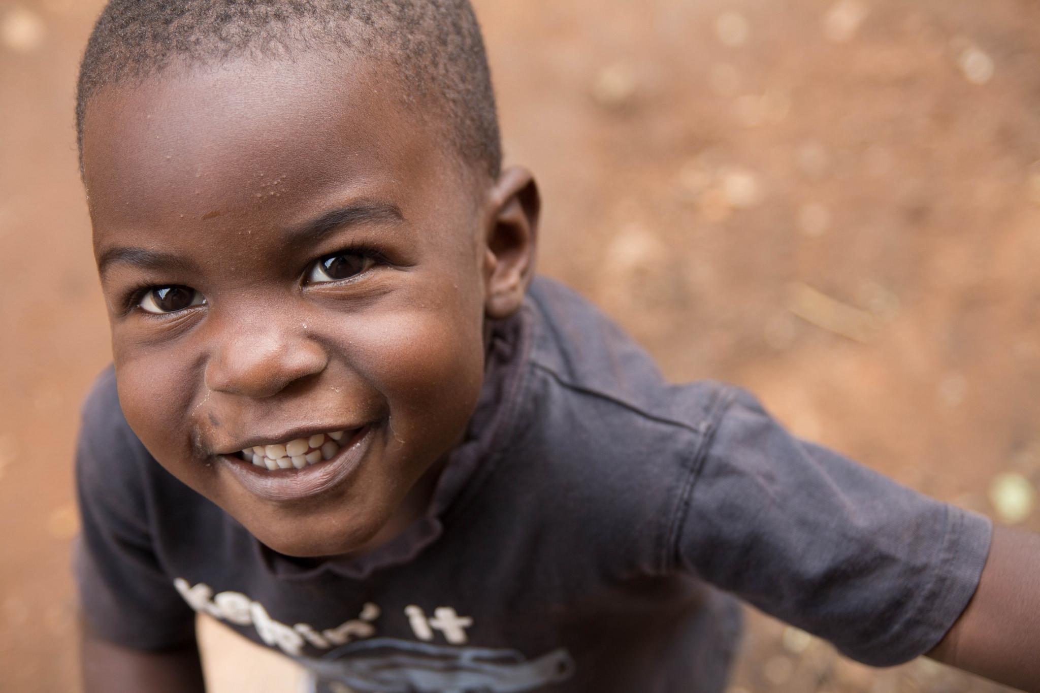 Joel is number five of the six Kimbugwe children.