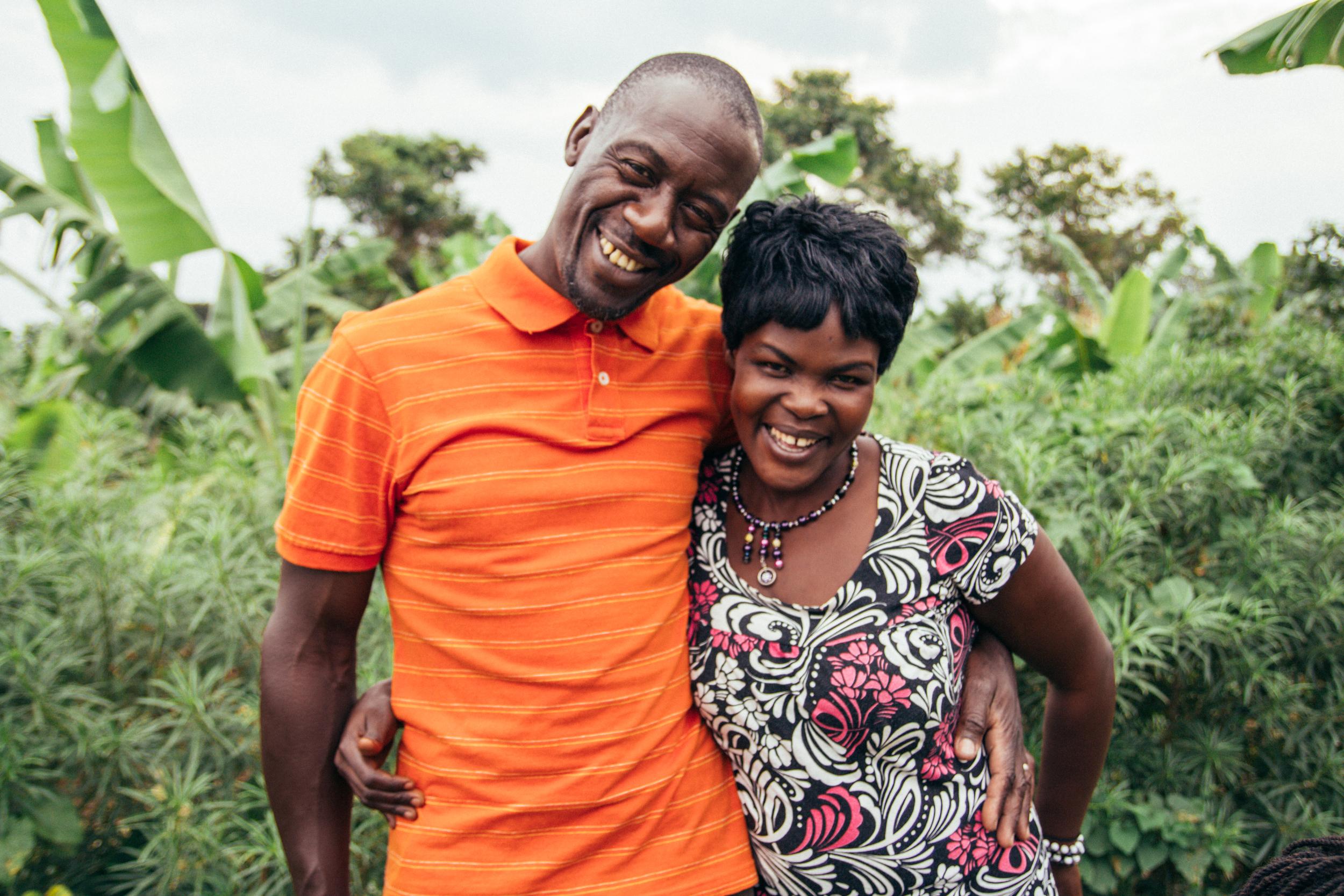 Peter and Cissy Kimbugwe.