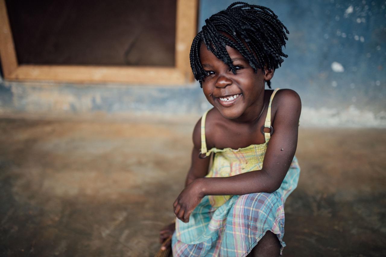 Joy,daughter of Peter and Cissy Kimbugwe.