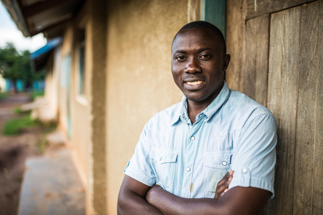 Lawrence Ssemakula, cooperative, is a skilled school teacher and is majoritively responsible for the improvement of St. John's school--from the training of teachers, to dealing with parents, to giving feedback for improvement.