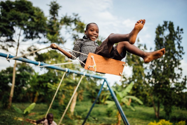 The children of our team on the ground are healthy and happy. Victor's parents report that their family (of 6) has had no sickness in an entire. year. His father, Francis, attributes much of this success to screening the windows and doors to keep out mosquitoes.