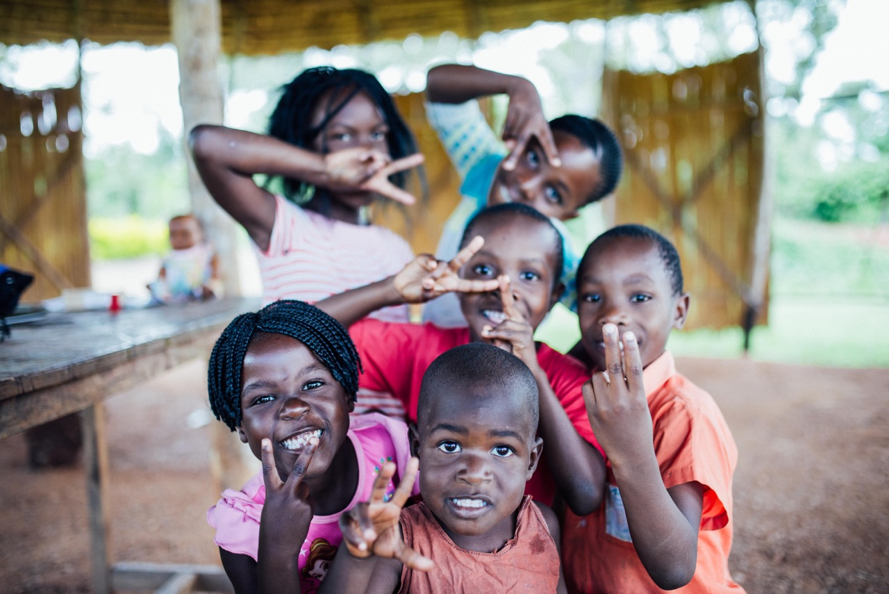 These are some of the children of our community in Uganda. They are reaping the benefits of parents who have meaning, purpose, and direction in their lives.