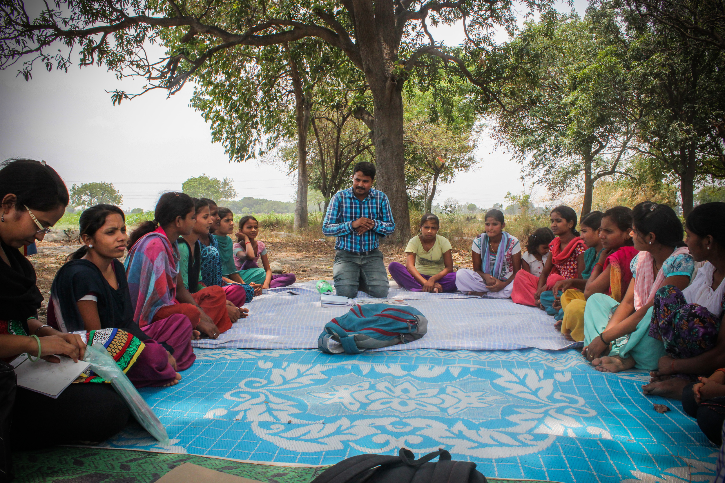 This group of women is more open to possibilities for improving their livelihood than before, thanks to meetings like this. Still, their opportunities are limited by cultural expectations and hard, social norms.
