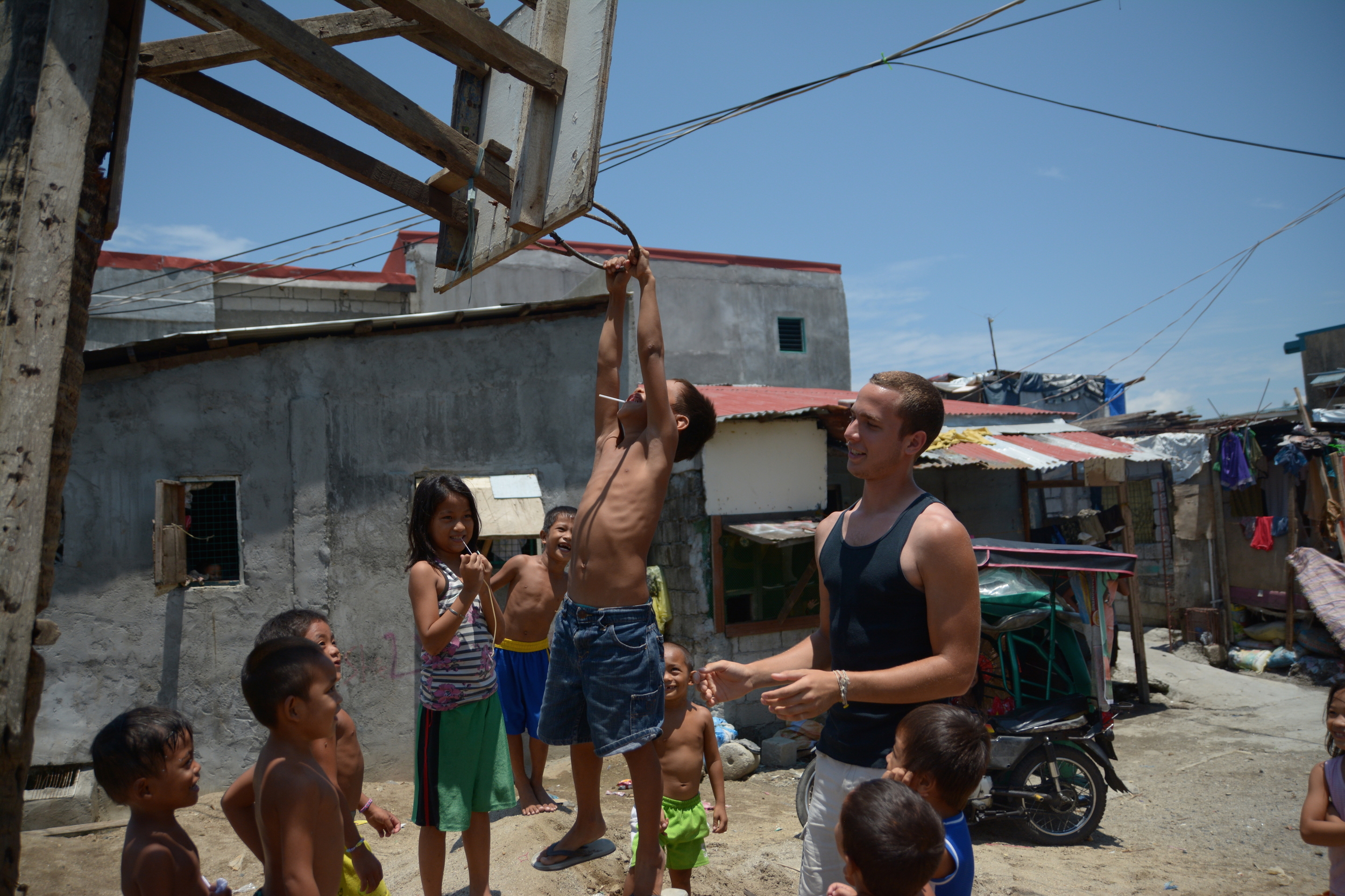 """Ethan Harris reflects,""""It has been an incredible experience in the Philippines so far. The differences of language and cultural practices has allowed me to realize just how much education I will need in order to effectively empower the people that God wants us to reach out to."""""""