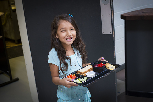 The Academy for G.O.D. was approved to provide free school lunch to all students, regardless of income.