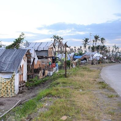 """As a result of the Typhoon, 90% of the homes in coastal Leyte were """"significantly damaged or destroyed.""""  Read more."""