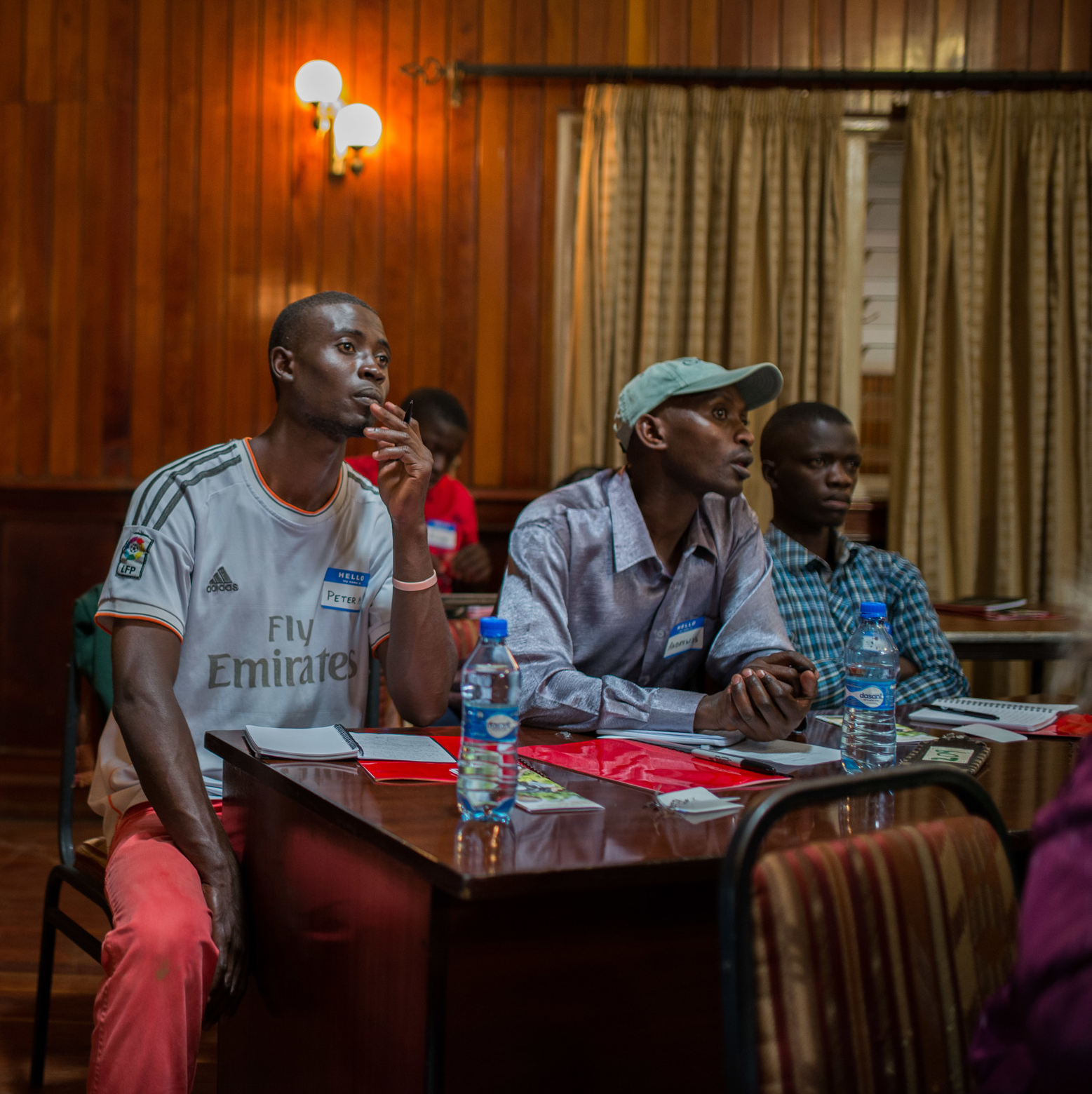 The G.O.D. EA Summit gathered students and leaders from throughout East Africa. Ugandan students attend the Institute for G.O.D. East Africa. Kenyan students are participants in a youth bible study led by Reuben Ndwiga and Simon Njeru.