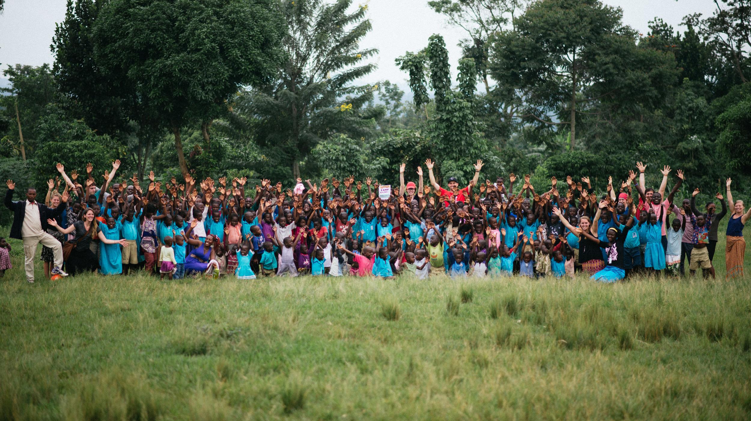A group photo of Camp Skillz: Uganda 2016! What a wonderful week for everyone involved.