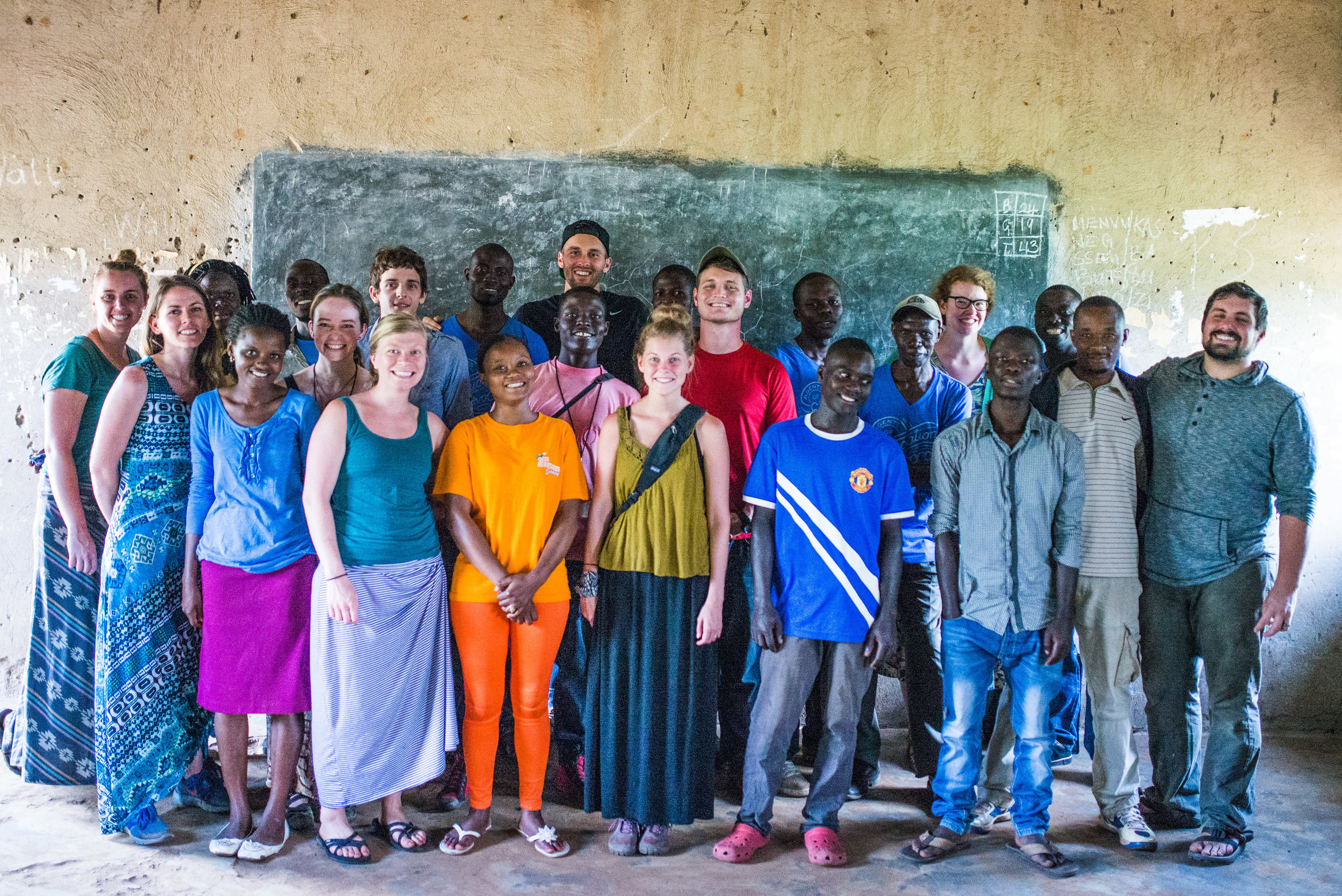 Our camp counselors: a combination of students from the Institute for G.O.D. in the US and East Africa, combined with G.O.D. facilitators and cooperatives. A wonderful crew!
