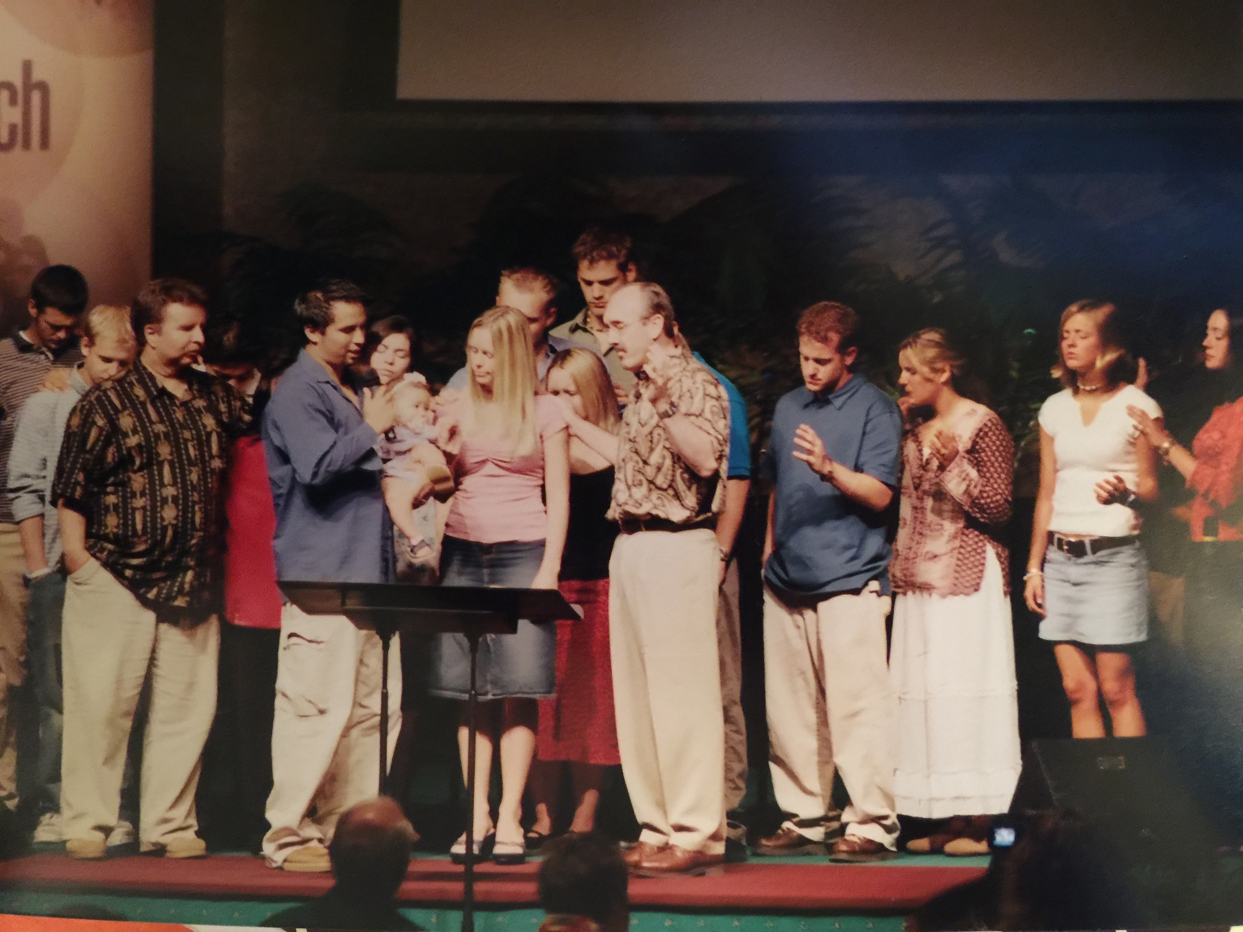 The believers that surrounded Genesis at her dedication are still surrounding her family today!