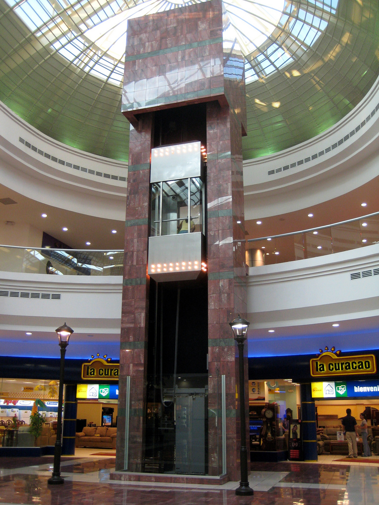 The immersion team was forced to compare the wealthy mall in San Salvador with the every day experience of families in the rural region where they stay.