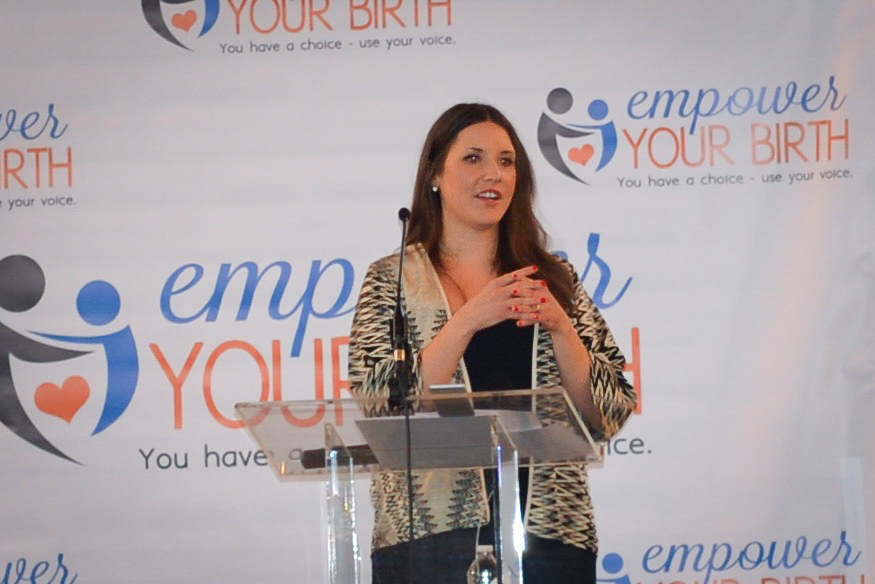 Megan (Fleeman) Ssekabira, Certified Labor Doula and Childbirth Educator, speaks to expecting families about the importance of preparing for a healthy birth by focusing on decision-making, formulating preference for birth, and surrounding themselves with an empowering support system.