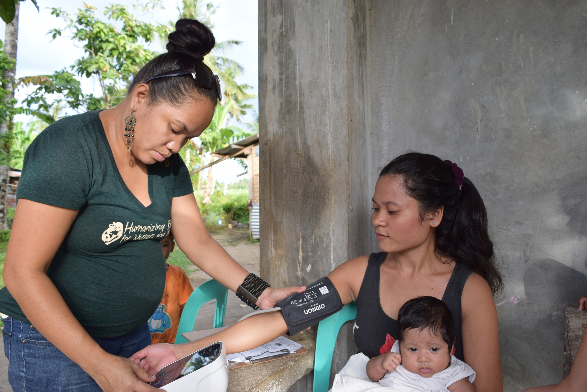 Jackie will work alongside G.O.D. Cooperative Rina Miller who was also given a G.O.D.scholarship through college to become a social worker. Rina now utilizes her advocacy skills for maternal health.