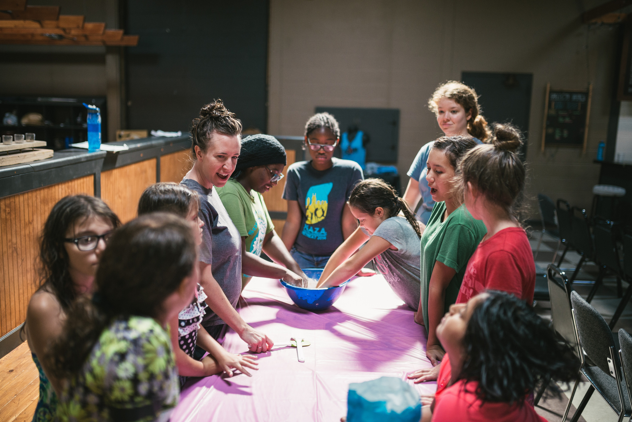Cooking class is a favorite activity for many youth. Kids learn the basics of preparing healthy food that tastes good!