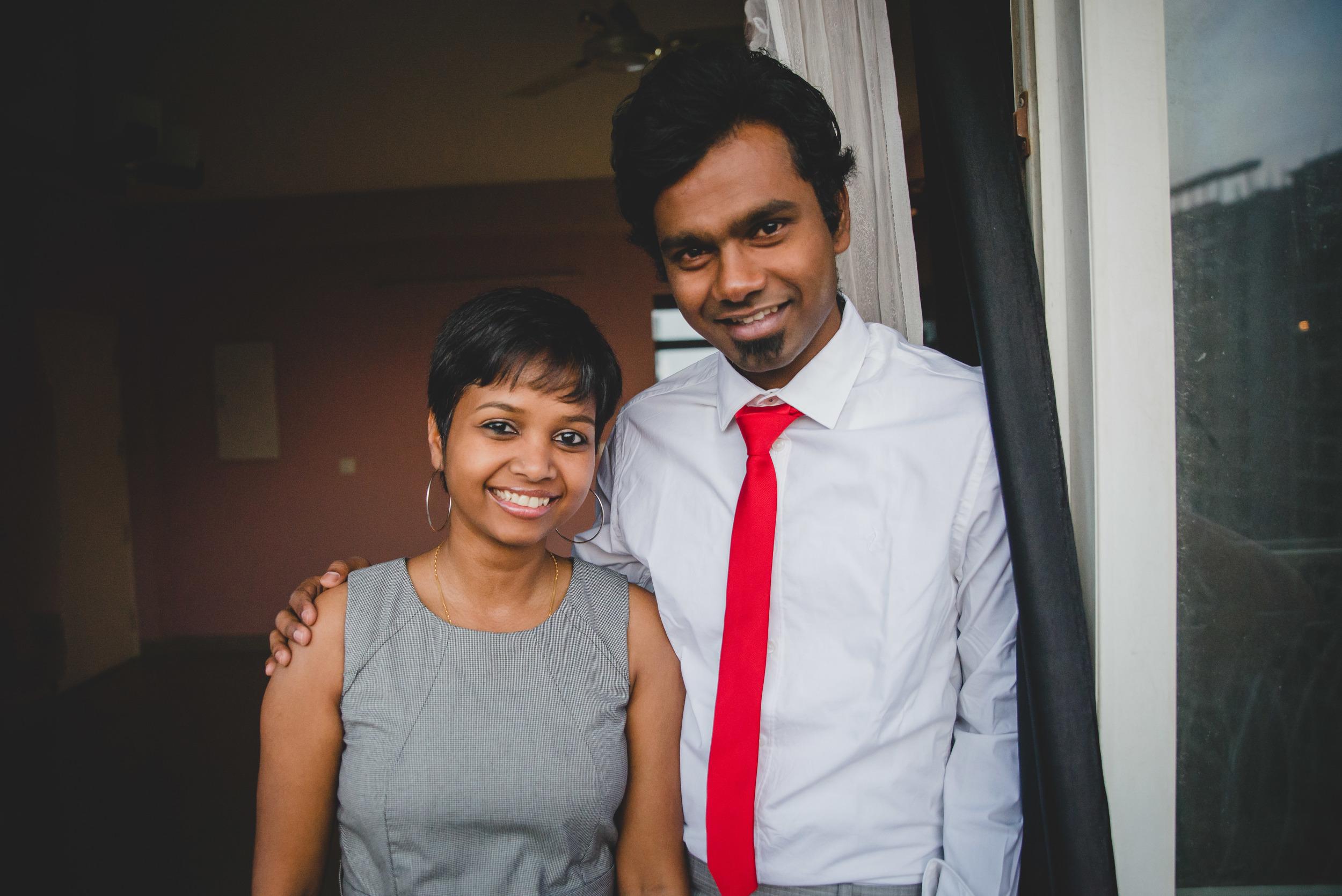 Manohar Paul and his wife, Sneha Purti Paul