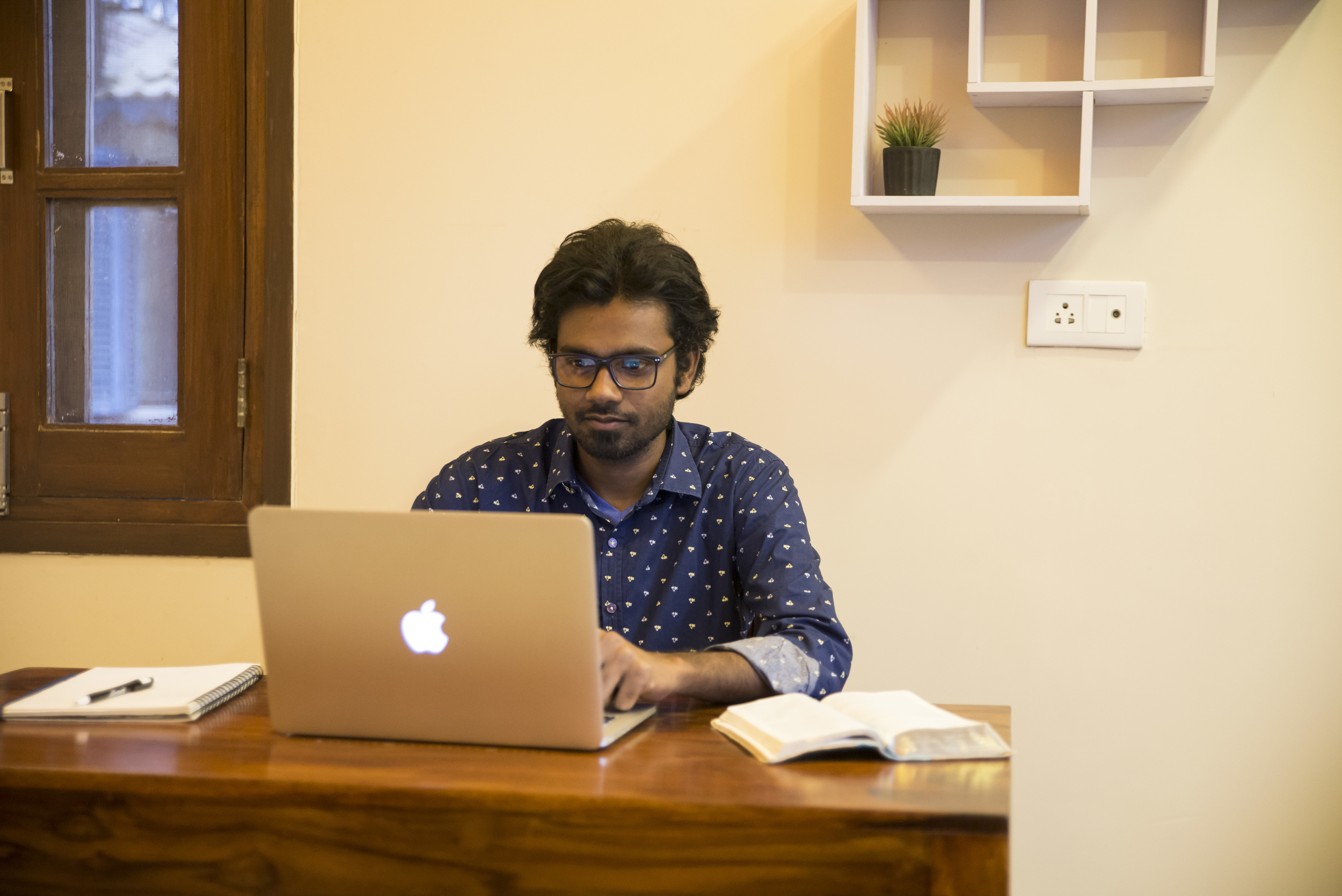 Our newest cultural liaison in India, Manohar Paul, is a dedicated student of God's Word.