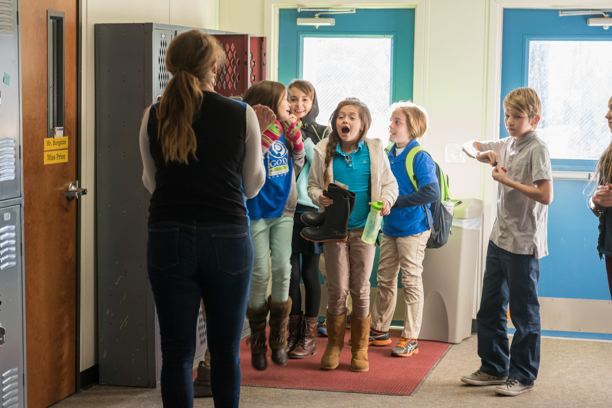 The beginning of the Spring semester was marked by an exciting welcome into our new facility! The spacious rooms and common meeting areas were such a blessing. Each homeroom became a unique space that reflected students' personalities and academic growth.