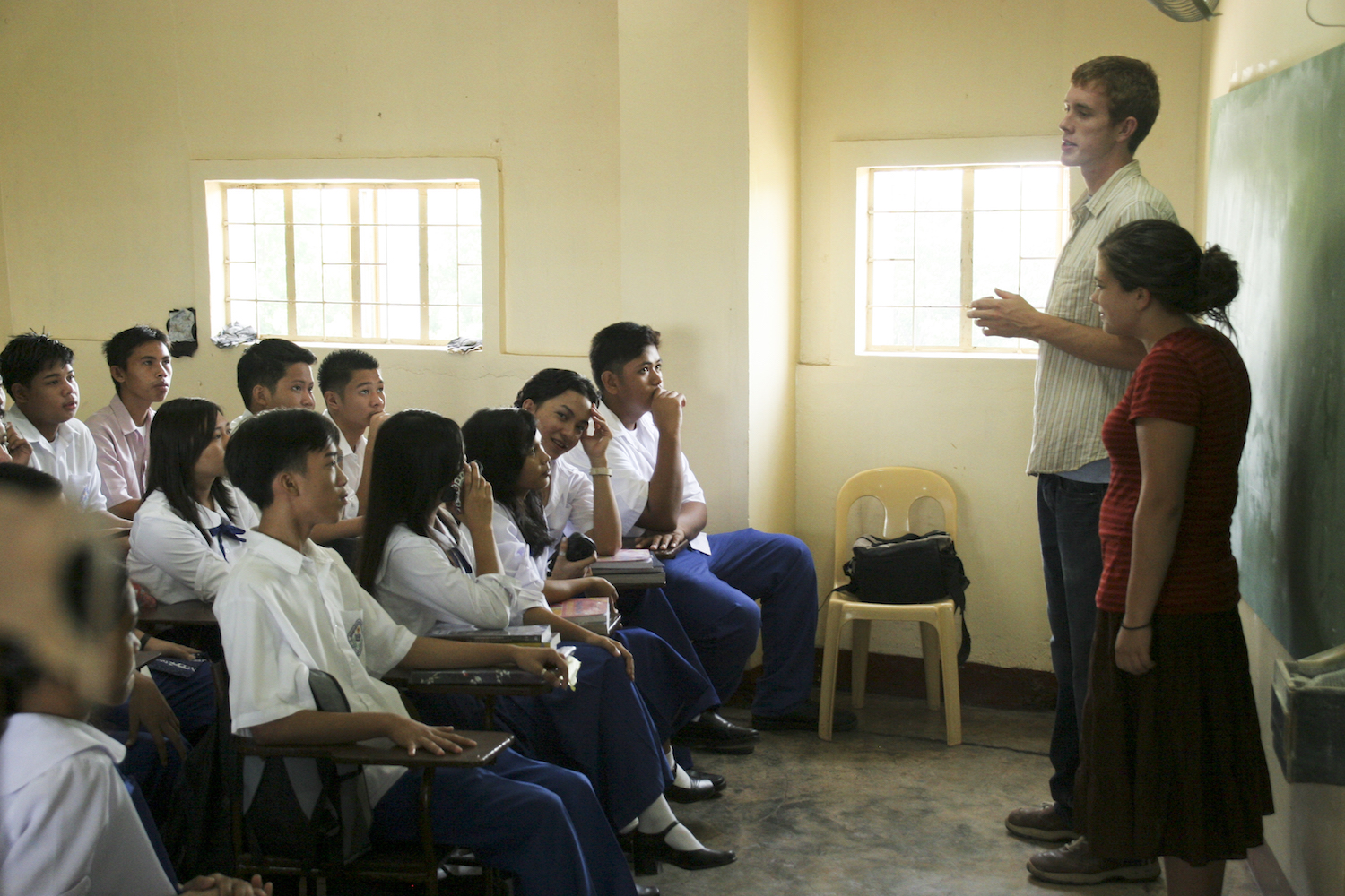 A year after his Internship, Brett went on his first Immersion trip to the Philippines in 2007.