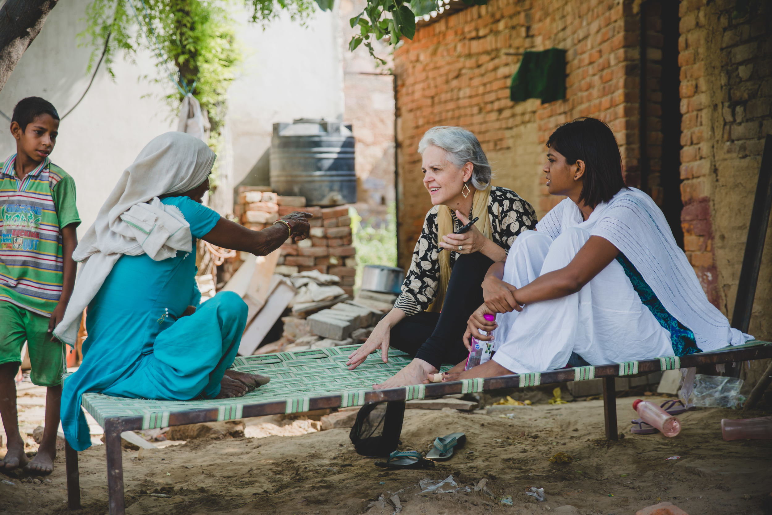 Rosemary Sherrod has been researching and conducting interviews on the psychology of women in India since June 2015. Her work not only aids India team members as they learn more about the culture and people of India, but also humanizes the women she interviews as their stories are heard and given value.