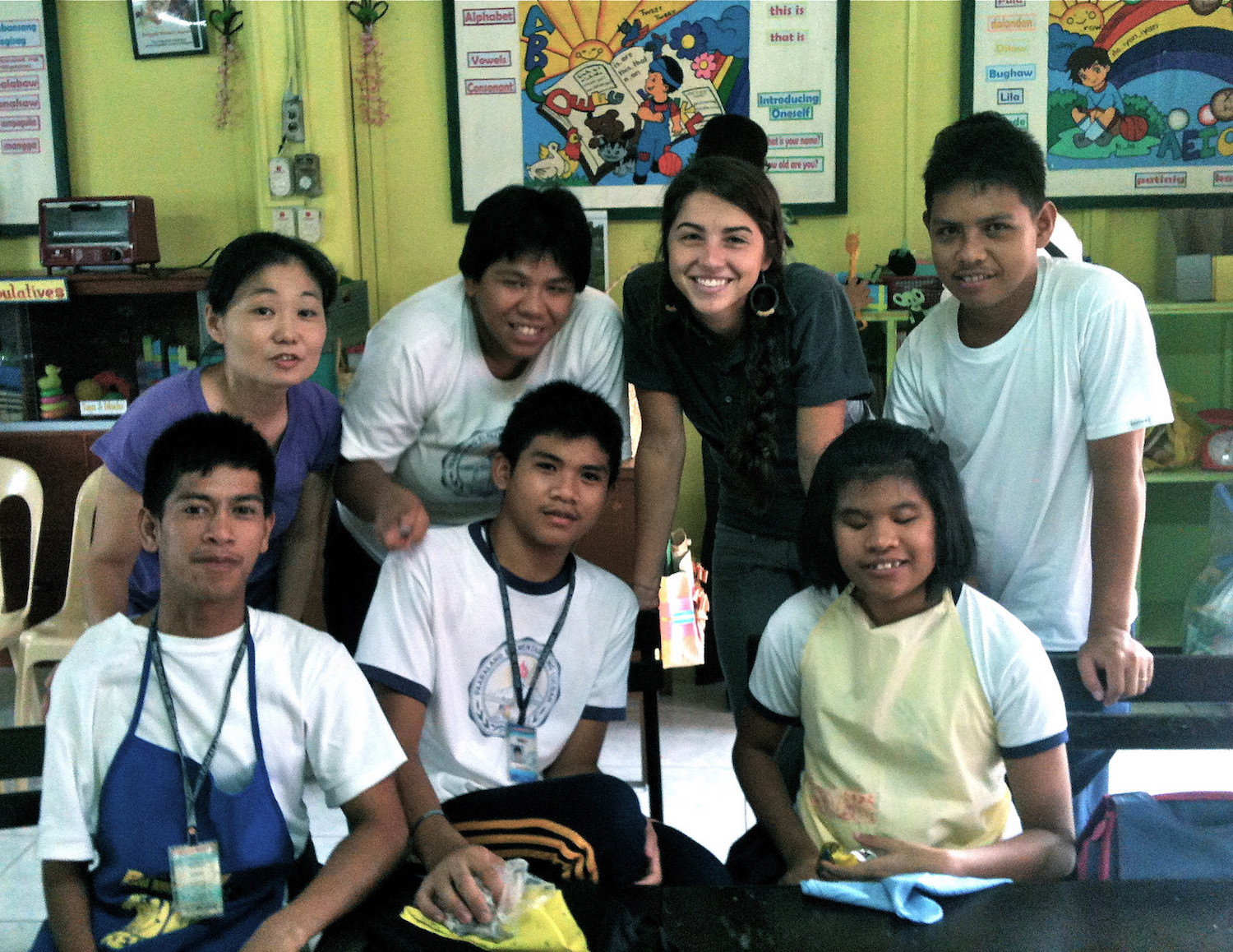 Alison spent 5 months teaching at Talaan Elementary in Luzon in 2011.