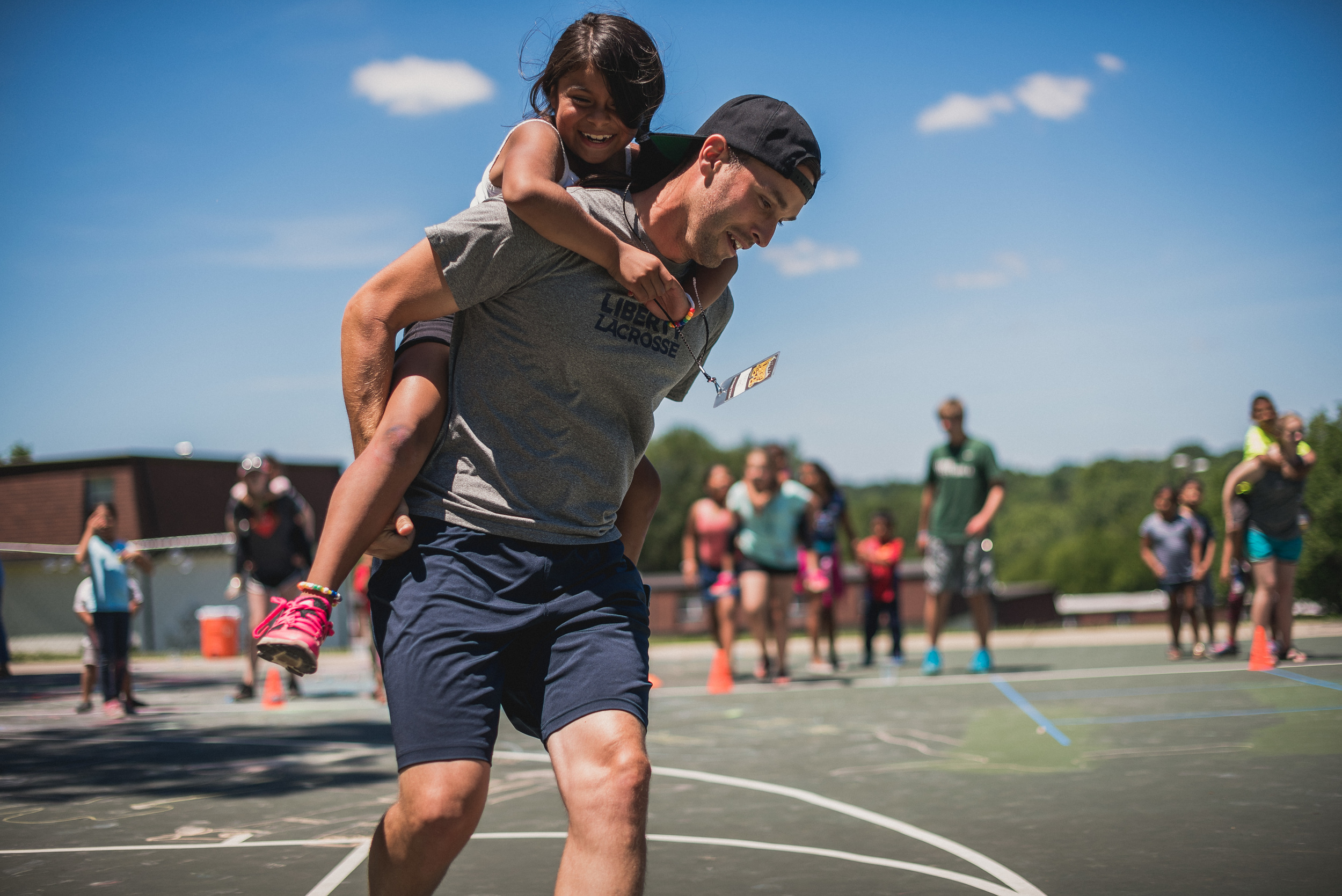 Camp Skillz is hard work, but for many of the kids involved, it's the only organized summer program available to them.