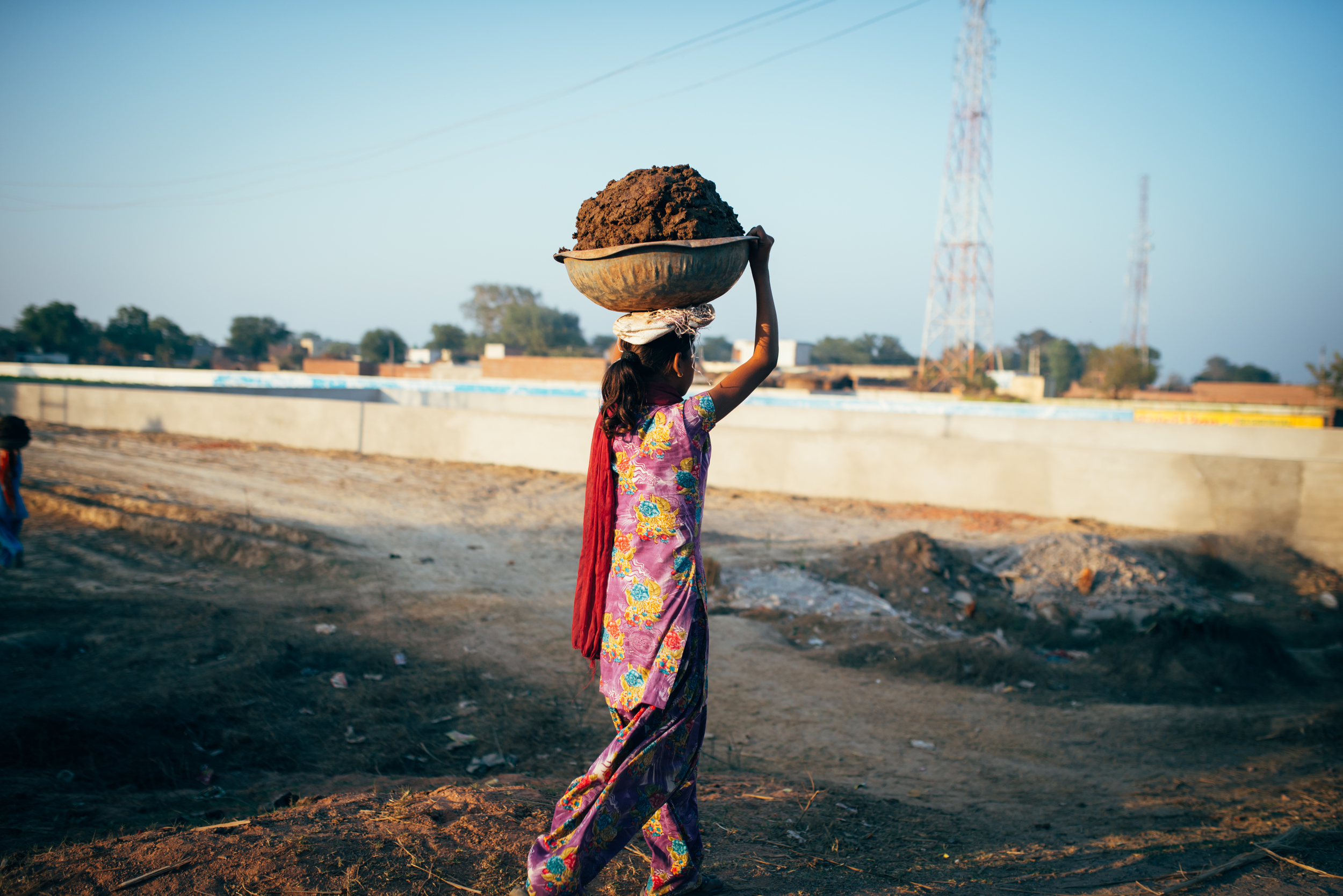 "When no one asks, ""What do you want to do with your life--what are your hopes for the future?"" the dreams of the young have no outlet for expression. For many young women in India, their future is determined by their need to work for daily sustenance."