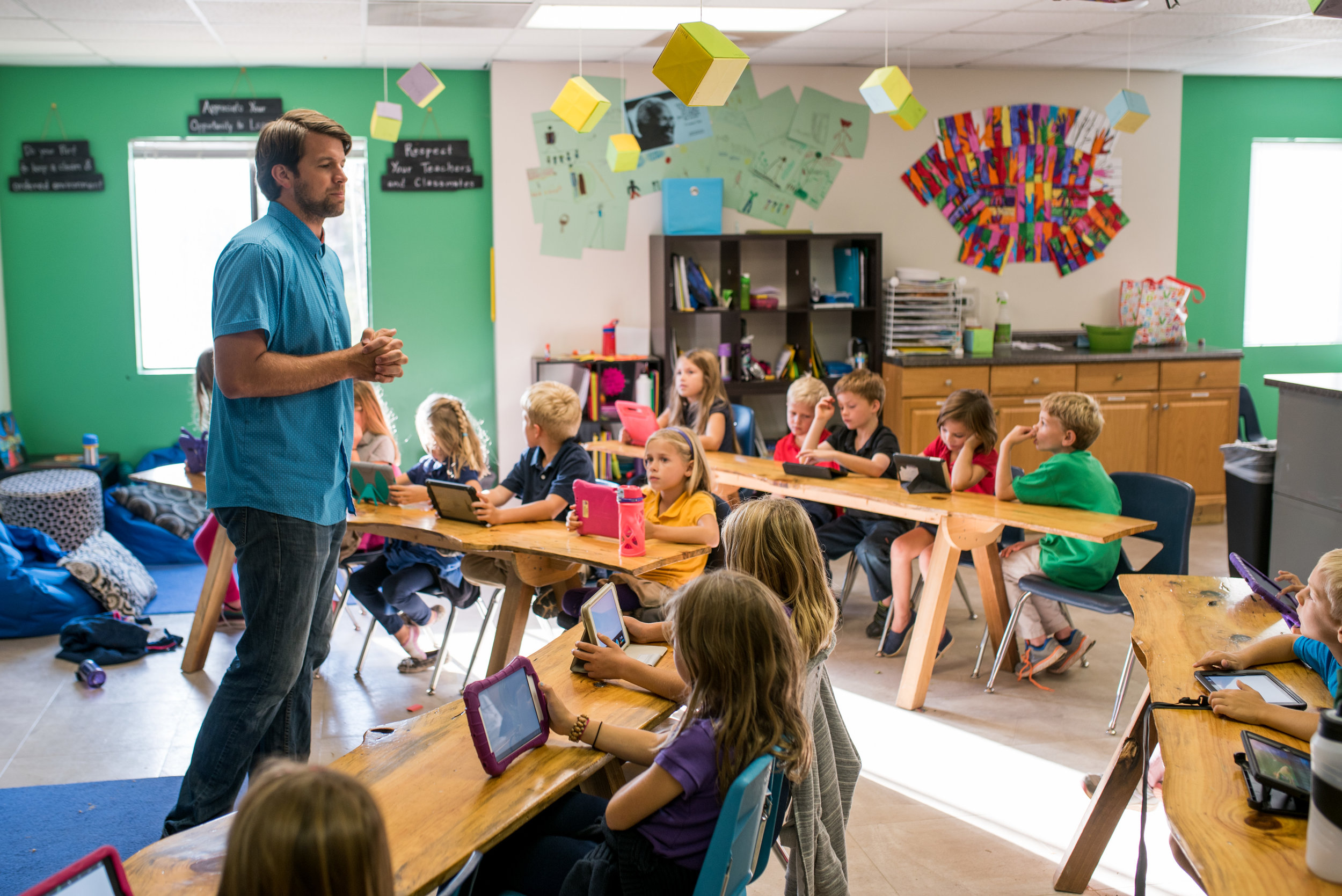 Teachers like Stephen Ownby bring an enthusiasm to the classroom that makes school more than a chore to get done, but a joy to experience.
