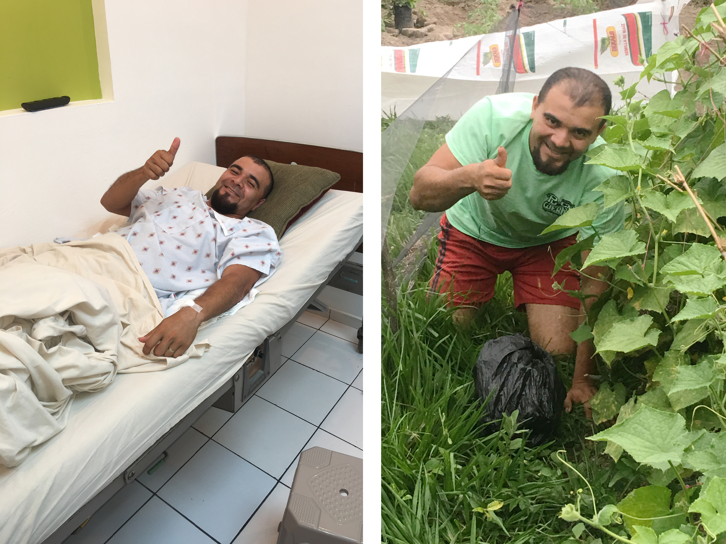 Antonio is one of many people in the third world that we support on a regular basis. Because of our help, Antonio was able to get the medical care he needed to continue to support his family, engage in ministry, and grow food for his community--his passion!
