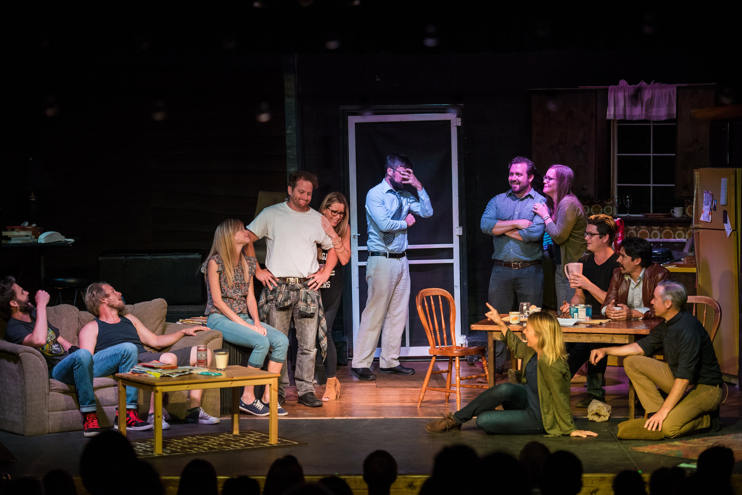 """Over the summer, the Arts at Center Street debuted  Mental, the raw, yet relatable play focused around the complex story of the Clark family.   Mental  examined """"the functional dysfunctionality of the human experience,"""" and the ways in which people choose to navigate life's turbulence."""