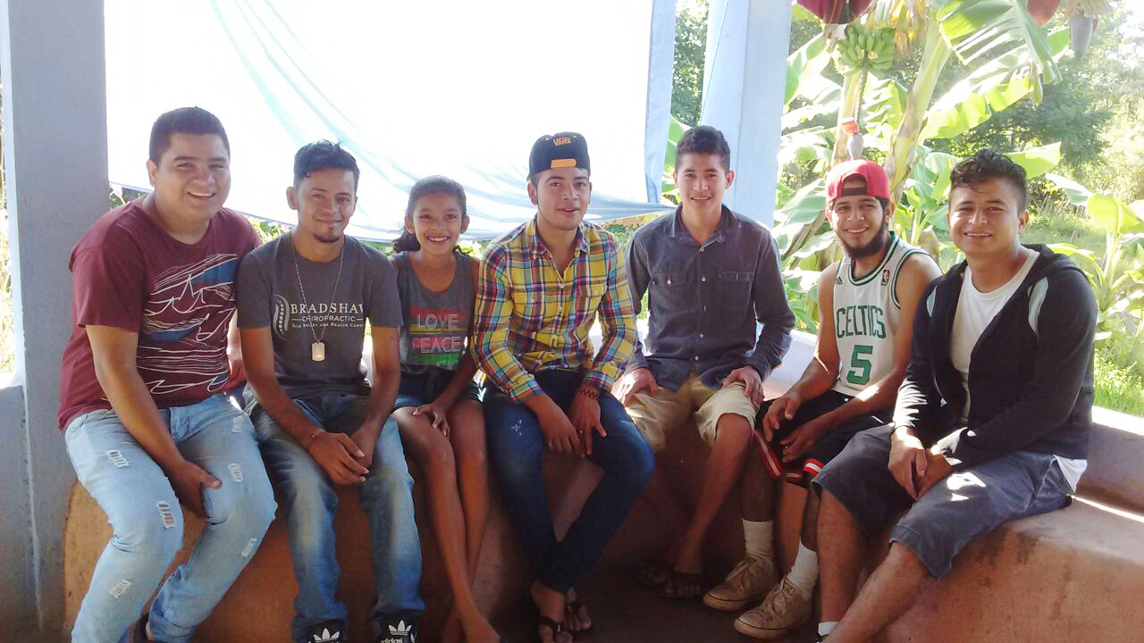 In El Salvador, we opened a youth house to local teenagers (some pictured here). Previously having very little to do, youth are now able to learn an instrument in our music room, help in our community garden, receive tutoring or counseling, participate in Bible studies and worship times, help with a children's soccer league, or enjoy meals and friendship. The transformation of the area is beginning with these special youth who frequent the space.